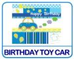 Birthday Toy Car